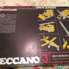 Juegos construcción - Meccano: MECCANO 3 EXIM AÑOS 70 EN CAJA. Lote 186205142