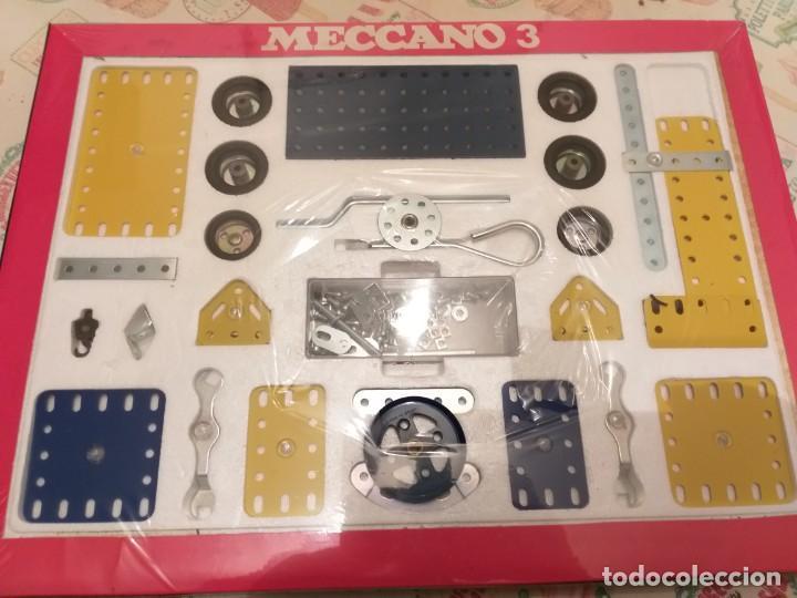 Juegos construcción - Meccano: meccano 3 exim años 70 en caja - Foto 2 - 186205142