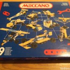 Juegos construcción - Meccano: MECCANO 39 MODELOS COMPLETO. Lote 187115778