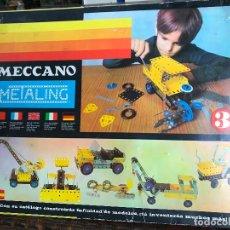Juegos construcción - Meccano: MECCANO METALING 3 EN BUEN ESTADO. Lote 187532973
