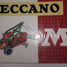 Juegos construcción - Meccano: CAJA MECCANO NÚMERO 4. Lote 188563951