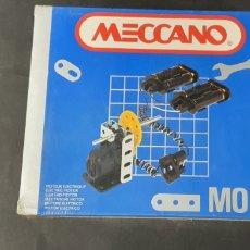 Juegos construcción - Meccano: MECCANO MOTOR ELÉCTRICO ANTIGUO. Lote 189270322