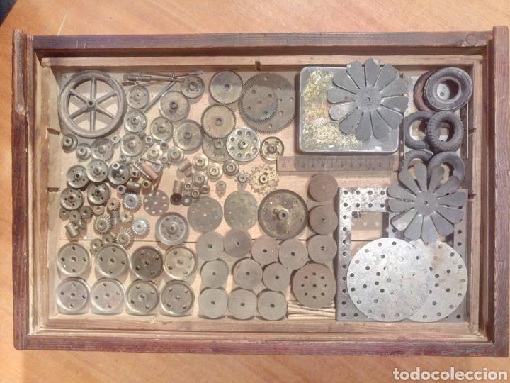 Juegos construcción - Meccano: Caja original de Walthers Stabil años 20 o 30 compatible con meccano - Foto 4 - 189469876