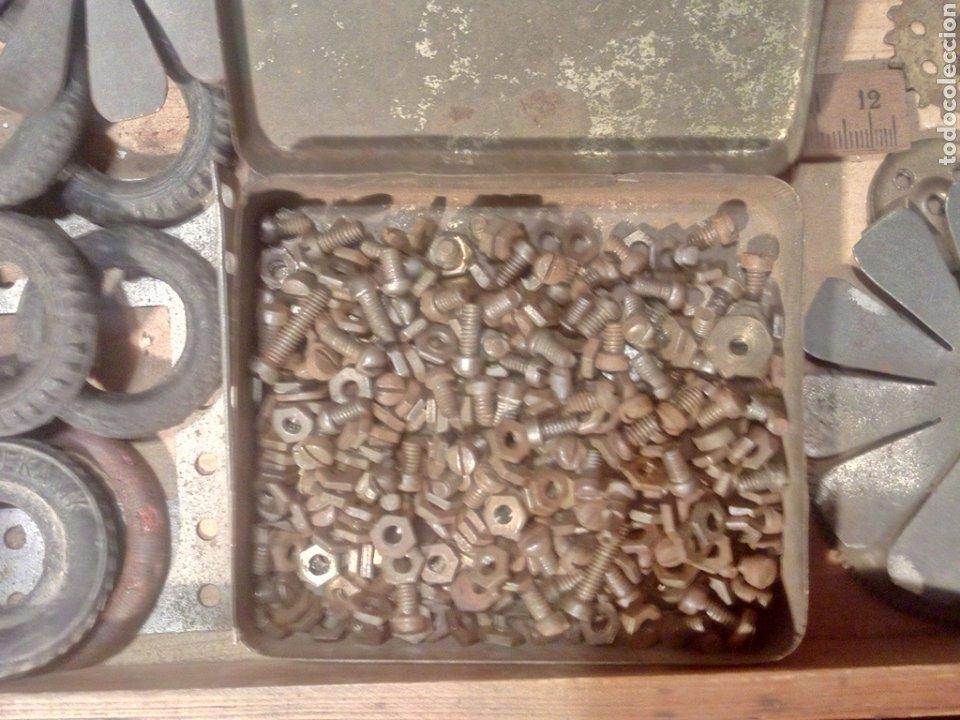 Juegos construcción - Meccano: Caja original de Walthers Stabil años 20 o 30 compatible con meccano - Foto 5 - 189469876