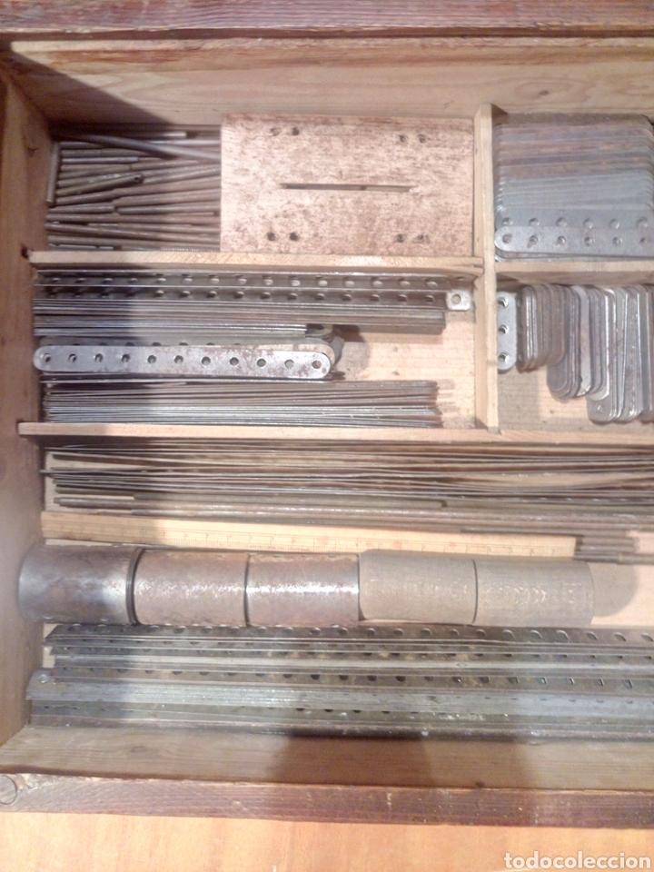 Juegos construcción - Meccano: Caja original de Walthers Stabil años 20 o 30 compatible con meccano - Foto 8 - 189469876