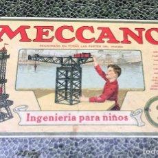 Jeux construction - Meccano: MECANO N 2. Lote 189615677