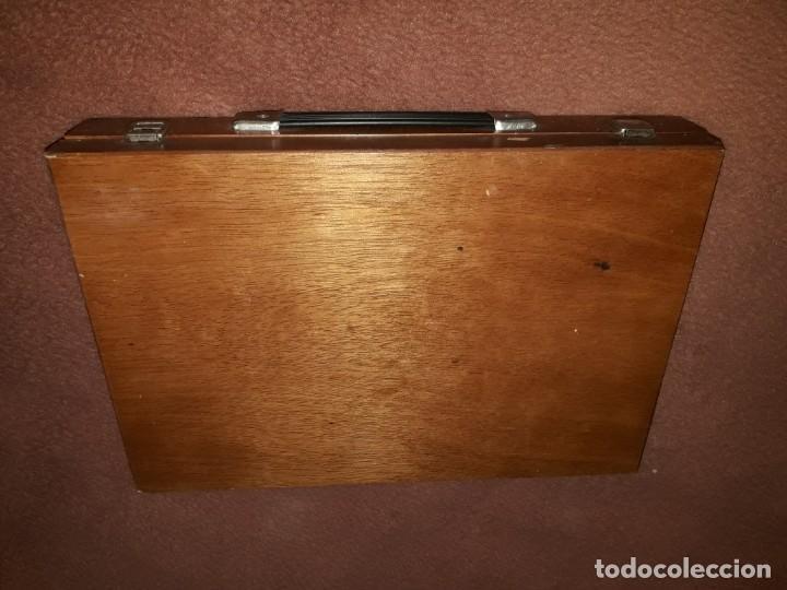 Juegos construcción - Meccano: Caja con piezas restauradas de meccano - Foto 5 - 190832796