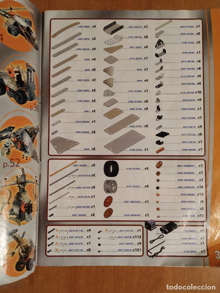 Juegos construcción - Meccano: MECCANO DESIGN 4. Referencia #7700. Completo, creo. Mecano. Mekano. - Foto 3 - 191715943