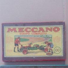 Juegos construcción - Meccano: LOTE 2 CAJA MECCANO ANTIGUAS OO Y OA. Lote 192723756