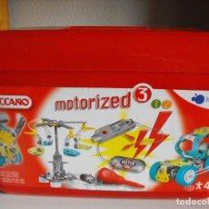 Juegos construcción - Meccano: MECCANO. MOTORIZED 3. ITSIMAGICAL. JUEGO DE CONSTRUCCIÓN.. Lote 193201371