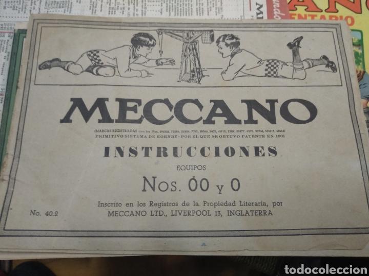 Juegos construcción - Meccano: Gran lote meccano muy completo con catálogos - Foto 4 - 193568630