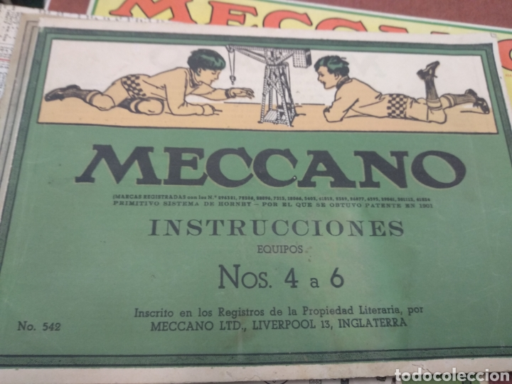 Juegos construcción - Meccano: Gran lote meccano muy completo con catálogos - Foto 5 - 193568630