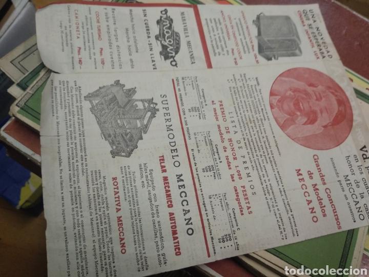 Juegos construcción - Meccano: Gran lote meccano muy completo con catálogos - Foto 9 - 193568630