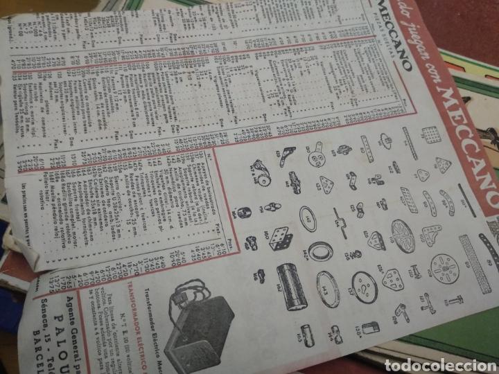 Juegos construcción - Meccano: Gran lote meccano muy completo con catálogos - Foto 10 - 193568630