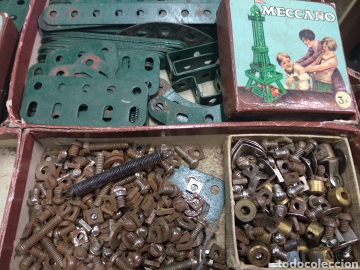 Juegos construcción - Meccano: Gran lote meccano muy completo con catálogos - Foto 12 - 193568630