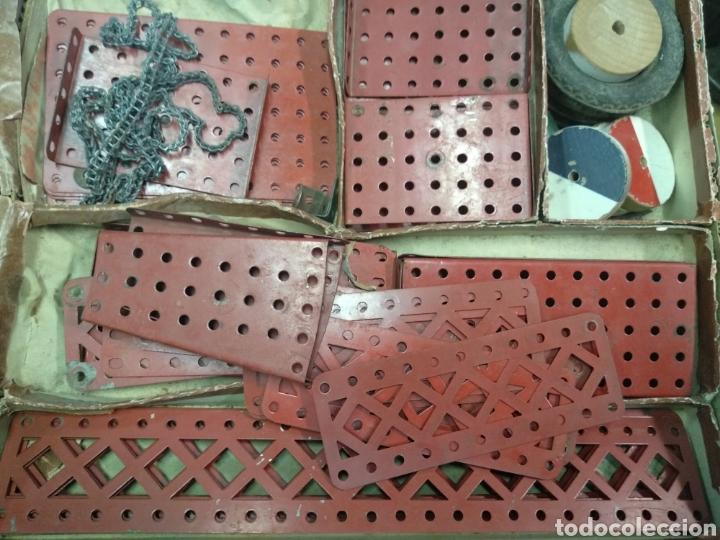 Juegos construcción - Meccano: Gran lote meccano muy completo con catálogos - Foto 13 - 193568630