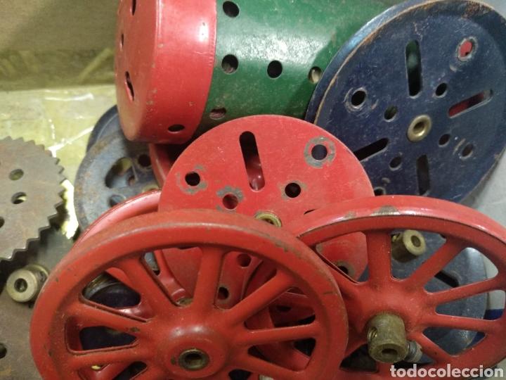 Juegos construcción - Meccano: Gran lote meccano muy completo con catálogos - Foto 17 - 193568630