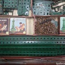 Juegos construcción - Meccano: GRAN LOTE MECCANO MUY COMPLETO CON CATÁLOGOS. Lote 193568630