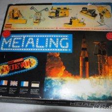 Jeux construction - Meccano: ANTIGUO JUEGO CONSTRUCCION MECCANO - METALING Nº 8. Lote 194152142