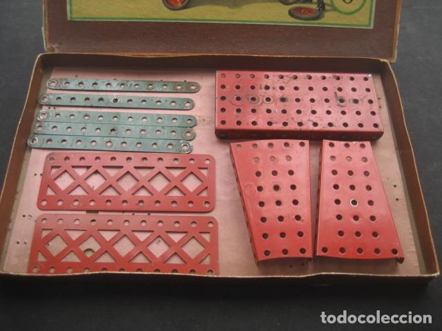 Juegos construcción - Meccano: CAJA MECCANO CON PIEZAS. NUMERO 0 - Foto 3 - 194400910