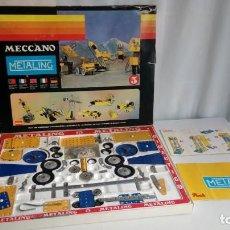 Juegos construcción - Meccano: METALING. Lote 194689810