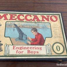 Juegos construcción - Meccano: CAJA JUEGO CONSTRUCCION MECCANO 0. Lote 195018707
