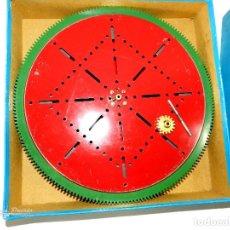 Juegos construcción - Meccano: MECCANO GEARED ROLLER BEARING Nº 167, PLACA GIRATORIA GRANDE, AÑOS 30. INGLATERRA.. Lote 195075331