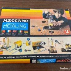 Juegos construcción - Meccano: METALING MECCANO CAJA N 2. Lote 195124960