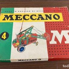 Juegos construcción - Meccano: MECCANO N 4 INGLES. Lote 195125168