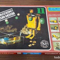 Juegos construcción - Meccano: METALING N 11 CON MOTOR MECCANO. Lote 195125443