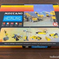 Juegos construcción - Meccano: METALING MECCANO CAJA 6. Lote 195125772