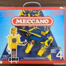 Juegos construcción - Meccano: MECCANO N 4 CON MOTOR ELECTRICO. Lote 195126201