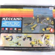 Juegos construcción - Meccano: MECCANO METALING 3 EN CAJA. Lote 195173165