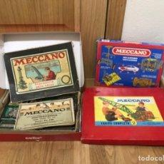 Juegos construcción - Meccano: LOTE DE TRES JUEGOS CONSTRUCCION MECCANO EN CAJA EQUIPO COMPLETO Nº 2 Y INGENIERIA PARA NIÑOS 60 50. Lote 195282730