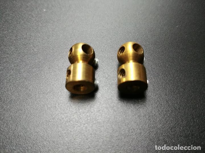 Juegos construcción - Meccano: Meccano parte nº 136a. Lote 2 soportes para balaustrada para eje. - Foto 2 - 195402377