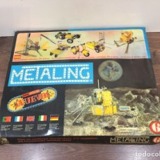 Juegos construcción - Meccano: METALING - MECANO - SERIE ESPECIAL MÓDULO LUNAR N. 6. Lote 195464123