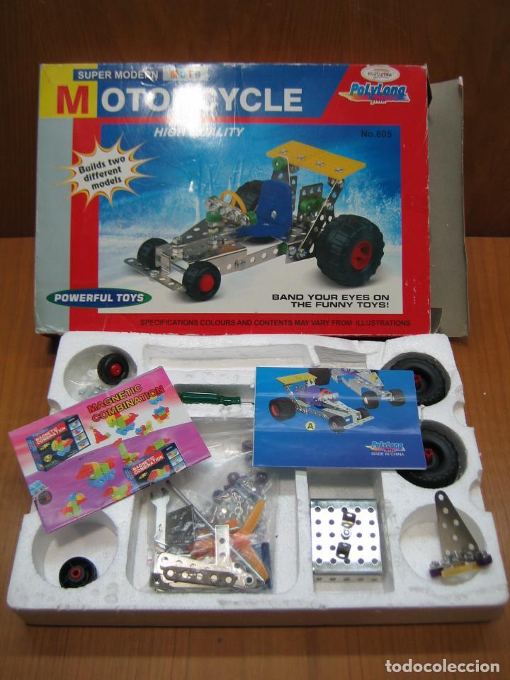 Juegos construcción - Meccano: Juego de montaje Motorcycle - Foto 2 - 196343610