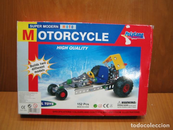 Juegos construcción - Meccano: Juego de montaje Motorcycle - Foto 7 - 196343610