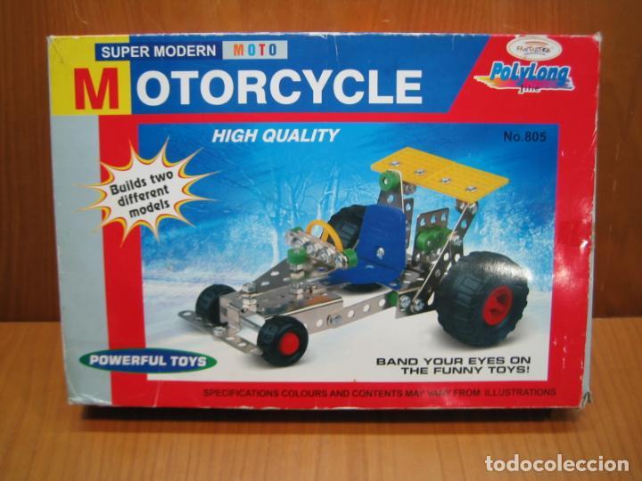 JUEGO DE MONTAJE MOTORCYCLE (Juguetes - Construcción - Meccano)