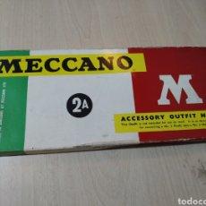 Juegos construcción - Meccano: MECCANO ACCESSORY OUTFIT NÚMERO 2A PARECE COMPLETO - AÑOS 60. Lote 196483688