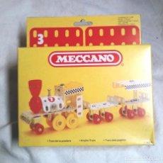 Juegos construcción - Meccano: TREN DE LA PRADERA DE MECCANO MECANO 3 REF 6205, NUEVO A ESTRENAR RESTO TIENDA AÑO 1981. Lote 198466980