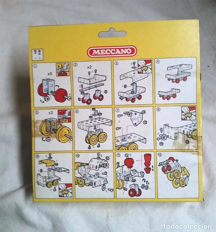 Juegos construcción - Meccano: Tren de la Pradera de Meccano Mecano 3 Ref 6205, nuevo a estrenar resto tienda año 1981 - Foto 2 - 198466980