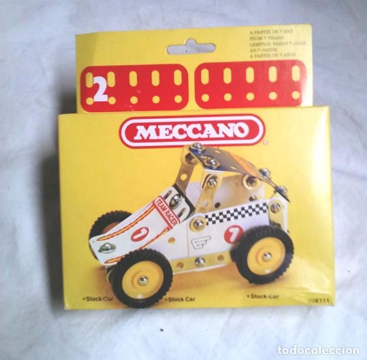 STOCK CAR DE MECCANO MECANO 2 REF 86111, NUEVO A ESTRENAR RESTO TIENDA AÑO 1981 (Juguetes - Construcción - Meccano)
