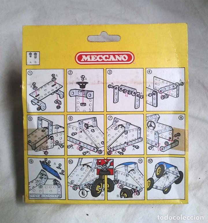 Juegos construcción - Meccano: Stock Car de Meccano Mecano 2 Ref 86111, nuevo a estrenar resto tienda año 1981 - Foto 2 - 198467070