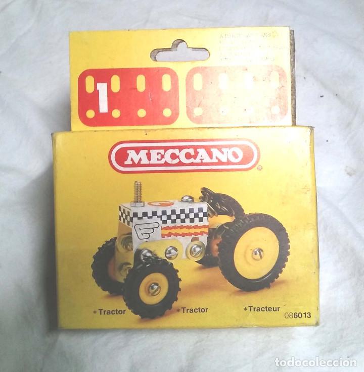 TRACTOR DE MECCANO MECANO 1 REF 86013, NUEVO A ESTRENAR RESTO TIENDA AÑO 1981 (Juguetes - Construcción - Meccano)