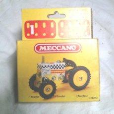 Juegos construcción - Meccano: TRACTOR DE MECCANO MECANO 1 REF 86013, NUEVO A ESTRENAR RESTO TIENDA AÑO 1981. Lote 198467112