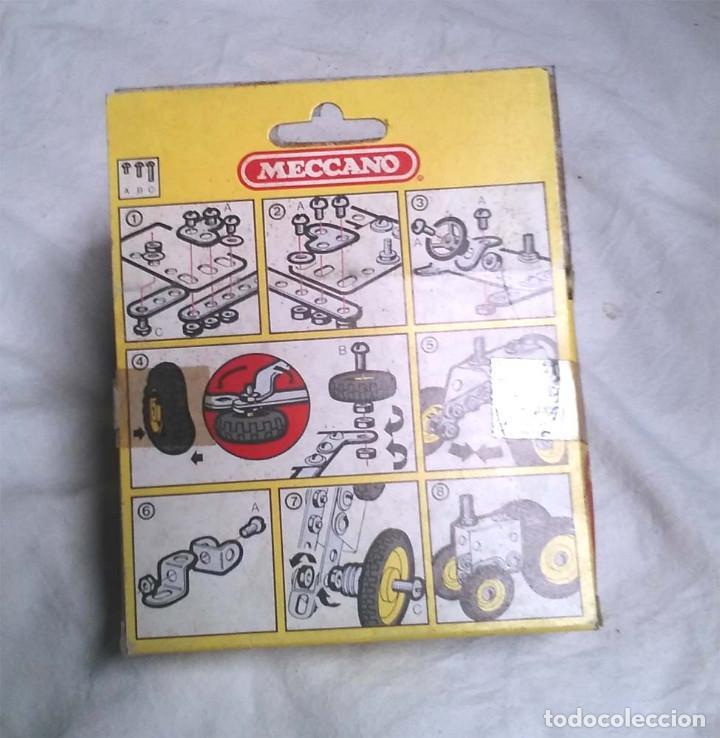 Juegos construcción - Meccano: Tractor de Meccano Mecano 1 Ref 86013, nuevo a estrenar resto tienda año 1981 - Foto 2 - 198467112