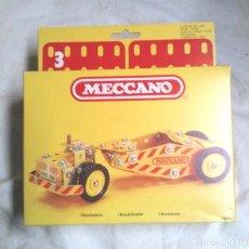 Juegos construcción - Meccano: NIVELADORA DE MECCANO MECANO 3 REF 86204, NUEVO A ESTRENAR RESTO TIENDA AÑO 1981. Lote 198467165