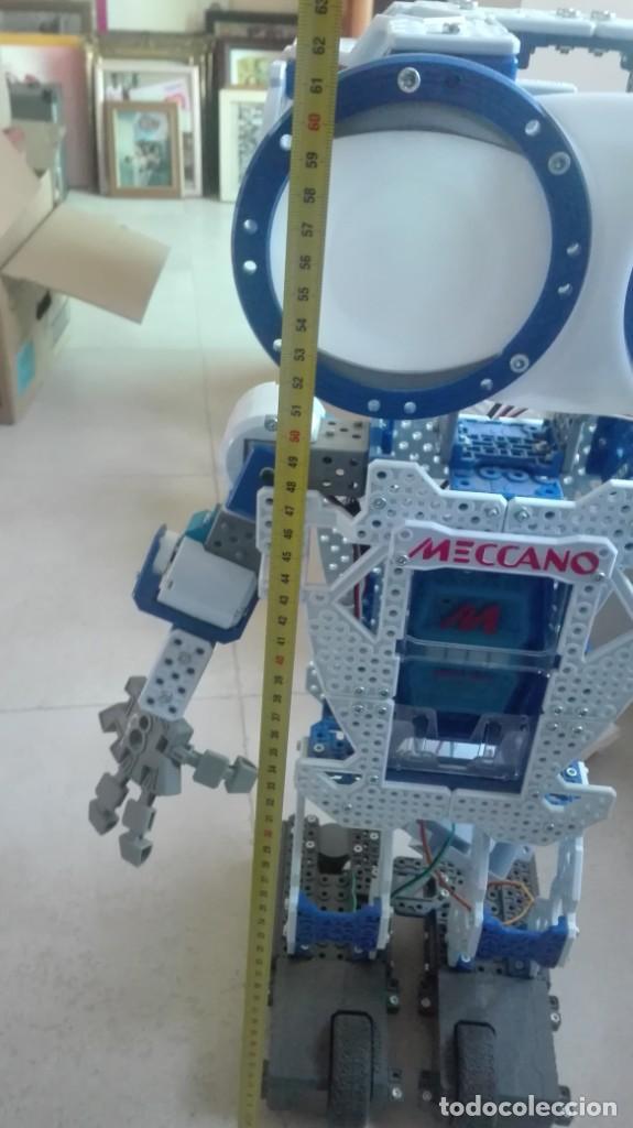Juegos construcción - Meccano: ¡¡¡OPORTUNIDAD!!!Pareja de robots antiguos de mecano - Foto 3 - 198751700
