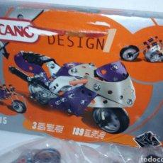Juegos construcción - Meccano: MECCANO DESING MOTOS. Lote 198861902